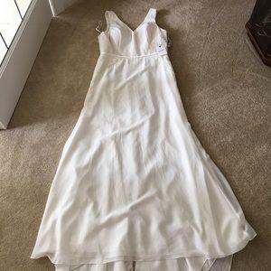 Christina Wu NWT Chiffon Lace Wedding Dress